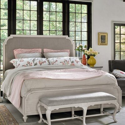 Paquin Upholstered Panel Bed