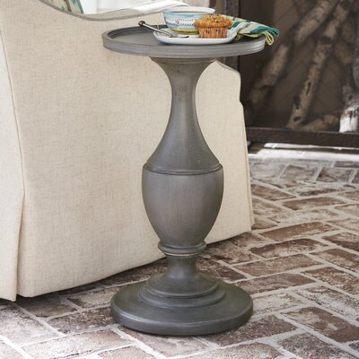Tennille Round End Table Color: Gray