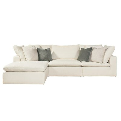 Stalder Reversible Sectional with Ottoman