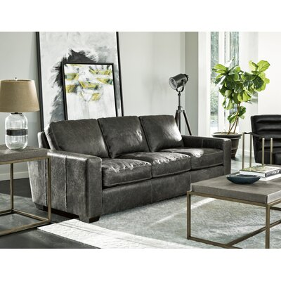 Dansville Leather Configurable Living Room Set