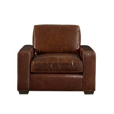 Dansville Arm Chair Upholstery: Brown