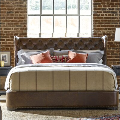 Devere Upholstered Panel Bed Size: King