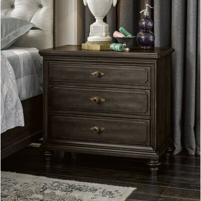 Gallaway Front 3 Drawer Nightstand
