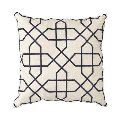 Cronin Throw Pillow Color: Blue