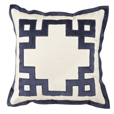 Monmouth Throw Pillow Color: Blue