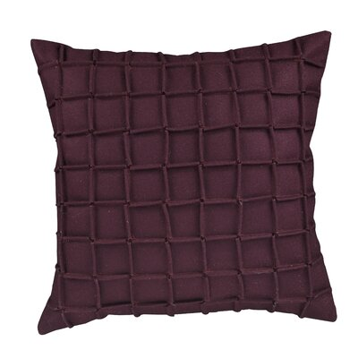 Venegas Matrix Throw Pillow Color: Purple