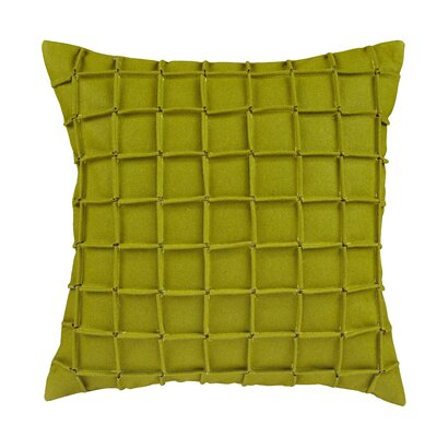 Venegas Matrix Throw Pillow Color: Green