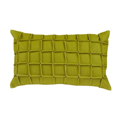Venegas Kidney Lumbar Pillow Color: Green