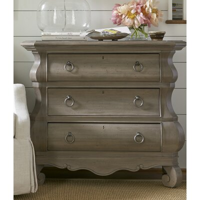 Baily 3 Drawer Nightstand