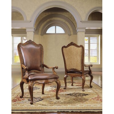 Low Price Universal Furniture Villa Cortina Side Chair (Set of 2) Upholstery: Fabric – Tan Pattern