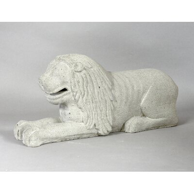 Animals Medieval Lion Statue