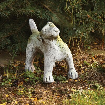 Animals Garden Pup Outdoor Statue