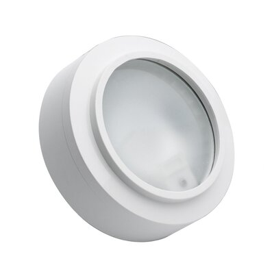 Xenon Under Cabinet Puck Light Finish: White