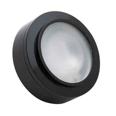 Xenon Under Cabinet Puck Light Finish: Black
