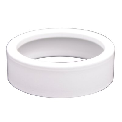 MiniPot Collars with Recess or Surface Mount (Set of 3) Finish: White
