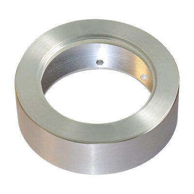 Tiro Collar 3-Light Tiro Collar Conversion Ring Finish: Brushed Aluminum
