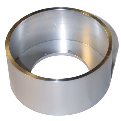 Tiro Collar 12-Light Conversion Ring Finish: Brushed Aluminum