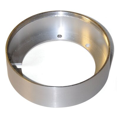 Tiro Collar 3-Light Conversion Ring Finish: Brushed Aluminum