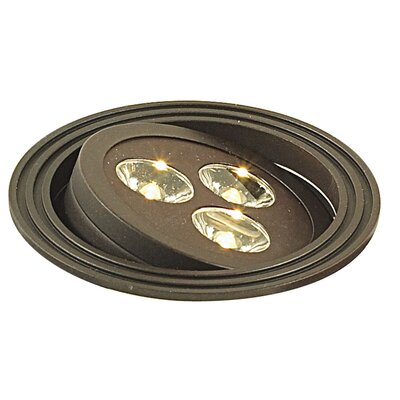 LED Recessed Individual Spotlight Finish: Oil Rubbed Bronze