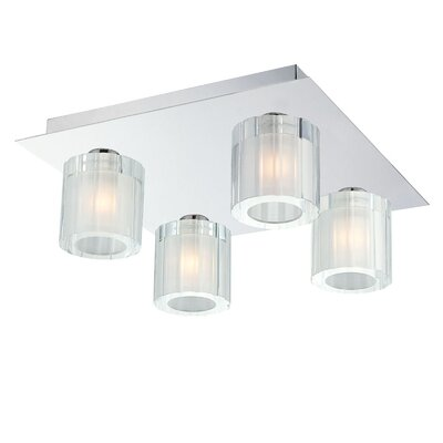 Jurgens 4-Light Flush Mount