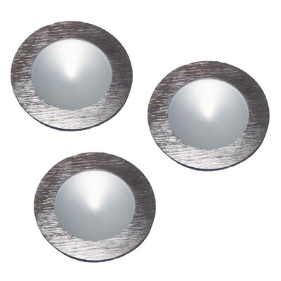 Polaris LED Under Cabinet Recessed Light Finish: Brushed Aluminum