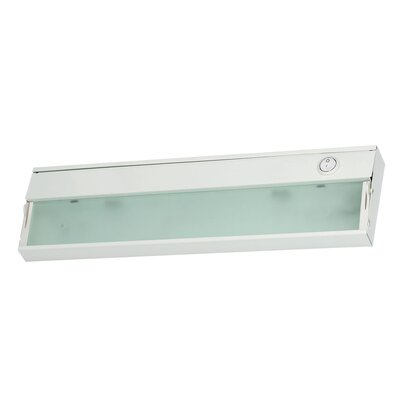 ZeeLite 9 LED Under Cabinet Bar Light Finish: White
