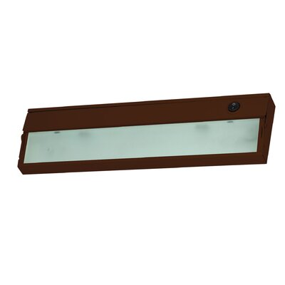 ZeeLite 9 LED Under Cabinet Bar Light Finish: Bronze