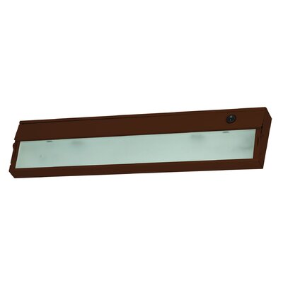 ZeeLite 17.5 LED Under Cabinet Bar Light Finish: Bronze