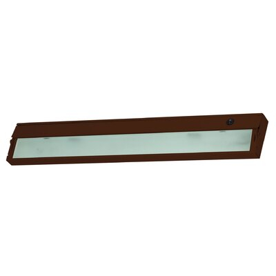 ZeeLite 26 LED Under Cabinet Bar Light Finish: Bronze