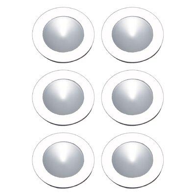 Polaris Under Cabinet Recessed Light Finish: White