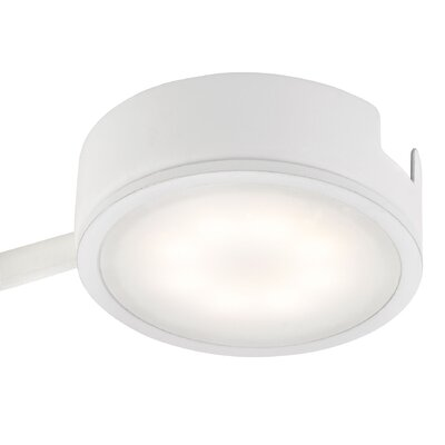 Tuxedo LED Under Cabinet Puck Light Finish: White