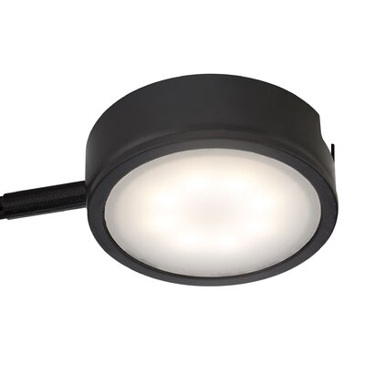 Tuxedo LED Under Cabinet Puck Light Finish: Black