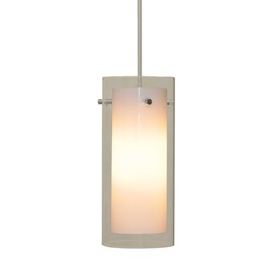 Tubolaire 1-Light Pendant Finish: Matte Satin Nickel
