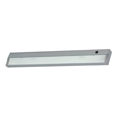 34.5 Xenon Under Cabinet Bar Light Finish: Stainless Steel