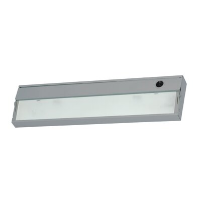 17.5 Xenon Under Cabinet Bar Light Finish: Stainless Steel