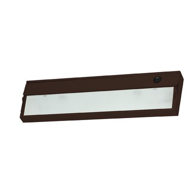 9 Xenon Under Cabinet Bar Light Finish: Bronze