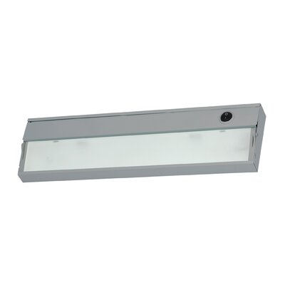9 Xenon Under Cabinet Bar Light Finish: Stainless Steel