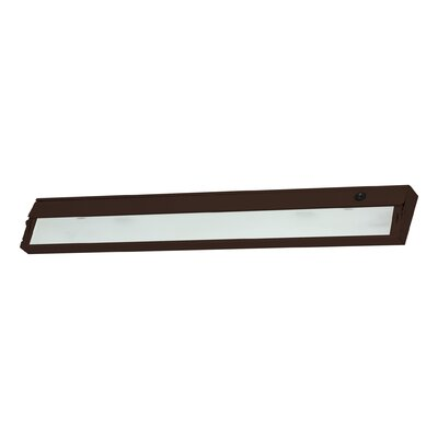 34.5 Xenon Under Cabinet Bar Light Finish: Bronze