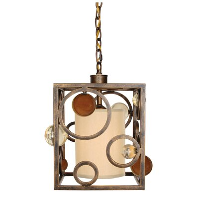 Free Wheeling Wheels Of Time 1-Light Pendant