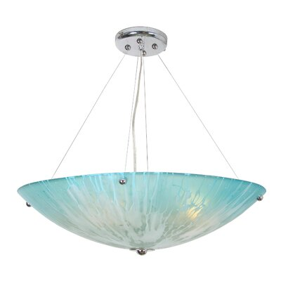 Raftery 4-Light Bowl Pendant