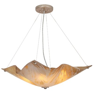 Lillia 4-Light Bowl Pendant
