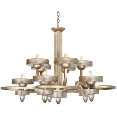 Applause 10-Light Candle-Style Chandelier