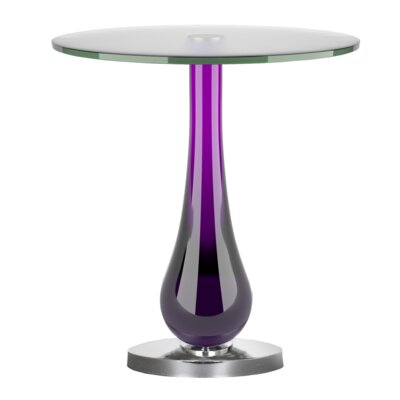 End Table Finish: Purple