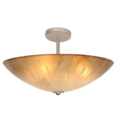 You Will Remember 4-Light Semi Flush Mount