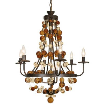 Hollywood 9-Light Candle-Style Chandelier