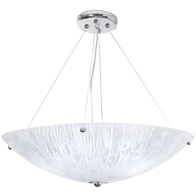 Salley 4-Light Bowl Pendant Size: 72 H x 30 W x 30 D