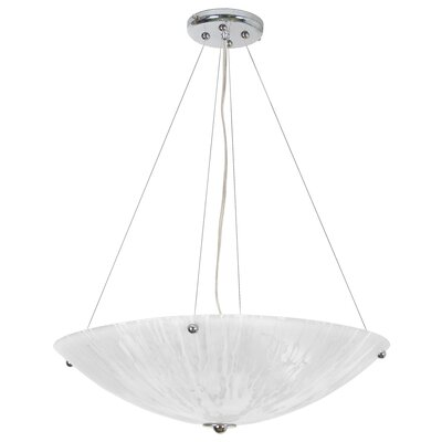 Salley 4-Light Bowl Pendant Size: 72 H x 21 W x 21 D
