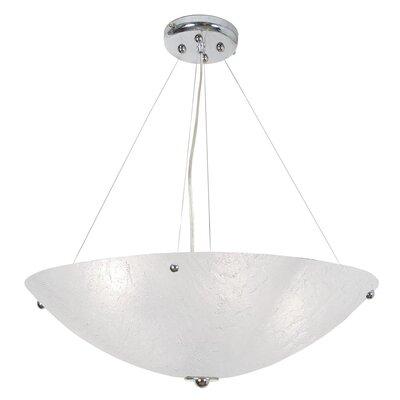 Sallee 4-Light Bowl Pendant Size: 72 H x 30 W x 30 D