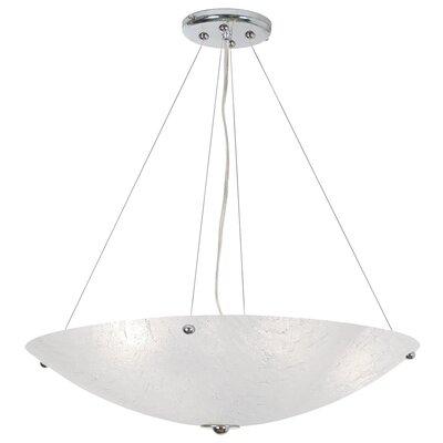 Sallee 4-Light Bowl Pendant Size: 72 H x 21 W x 21 D