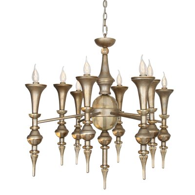 Lourenco 8-Light Candle-Style Chandelier